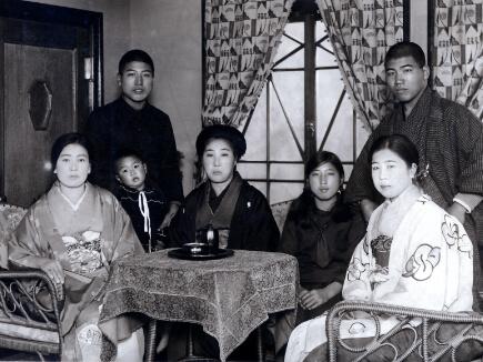 三代目(坂下望)と家族