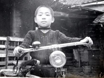 四代目と自転車